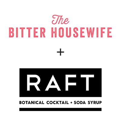 The Bitter Housewife and RAFT Syrups