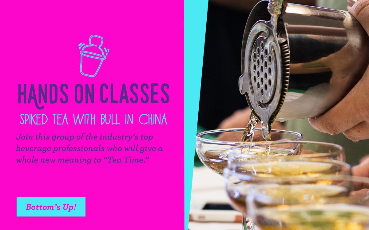 Hands-On Class Spiked Tea