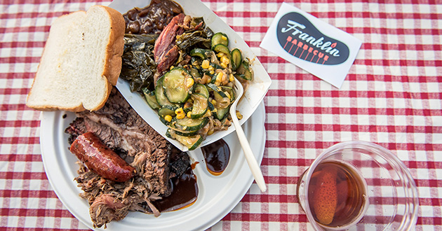 Franklin Barbecue and Friends