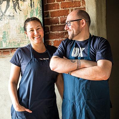 Greg Denton and Gabrielle Quiñónez Denton