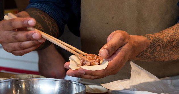 Hot Stove Society's Dumpling Fest: A Hands-On Dumpling Class with Chef Tom Douglas