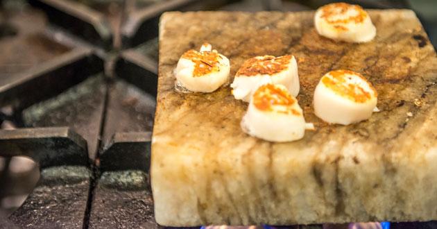 Salt Block Grilling: Outdoor Cooking with Slabs of Primordial Salt