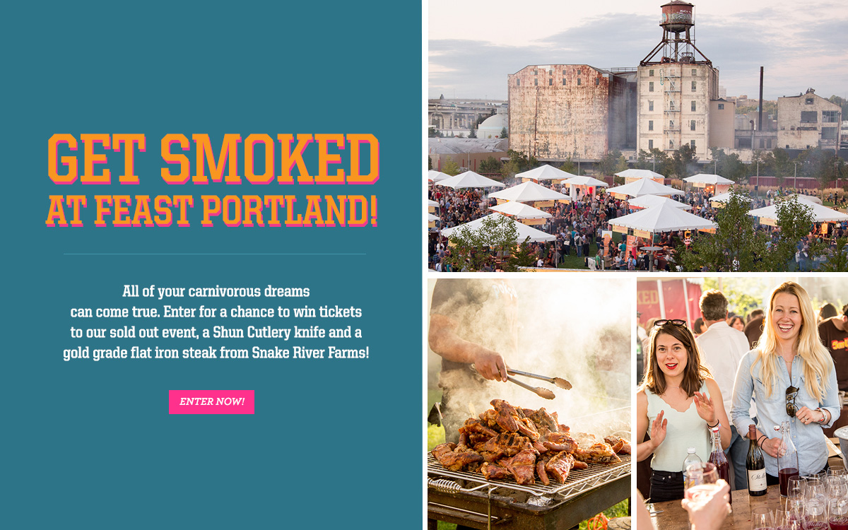 Get Smoked at Feast Portland!