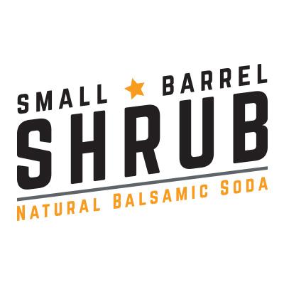 Small Barrel Shrub Natural Balsamic Soda