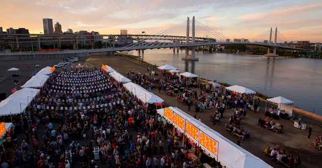 2016 USA Pears Night Market Presented by Alaska Airlines Visa Signature® Card